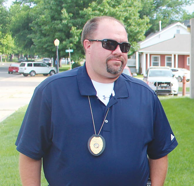 City of Pratt Police Chief Nate Humble updated city commissioners on Monday about the department's work to solve and stop a rash of burglaries at Pratt businesses and churches in past weeks.