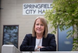Voters in Springfield re-elected Mayor Christine Lundberg for another four-year term. [Andy Nelson/The Register-Guard]
