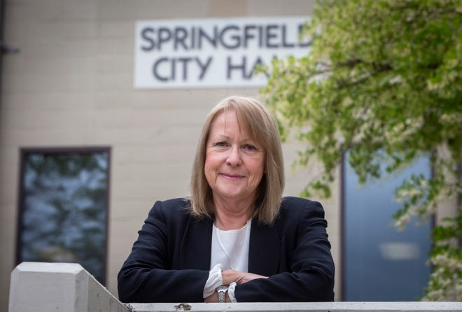 Voters in Springfield in May re-elected Mayor Christine Lundberg for another four-year term. [Andy Nelson/The Register-Guard]