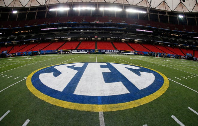 The Southeastern Conference will play only league games in 2020 to deal with potential COVID-19 disruptions, a decision that pushes major college football closer to a siloed regular season in which none of the power conferences cross paths. [John Bazemore/The Associated Press]