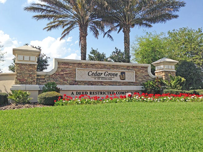 Centex's newest phase in Cedar Grove at The Woodlands will introduce 312 new single-family homes starting from the $200,000s in the established North Port community.