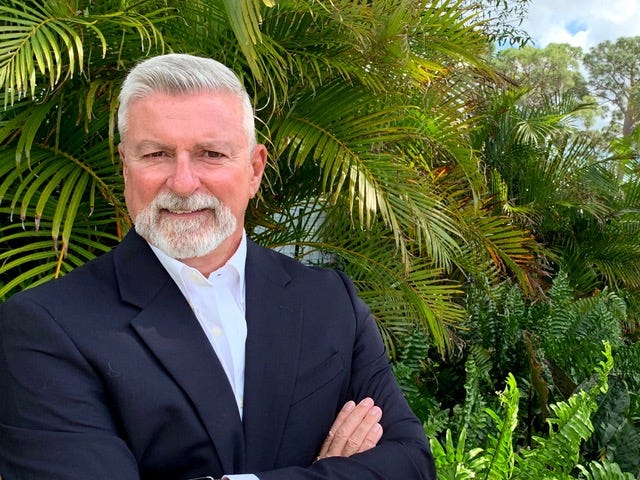 Newly elected Sarasota County School Board member Tom Edwards upset incumbent Eric Robinson in a race for the District 3 seat.