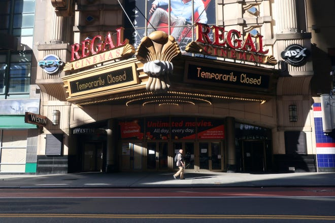 Regal Cinemas will also reopen theaters nationwide starting Friday, including Regal Hollywood Stadium 11 in Sarasota. Regal Oakmont 8 in Bradenton is set to reopen Aug. 28, according to the chain.