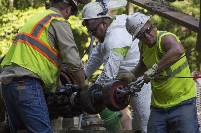 Piedmont Natural Gas will do pipeline maintenance in Fayetteville. [Contributed photo]