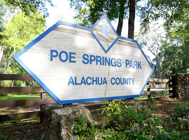 Poe Springs Park on the Santa Fe River in Alachua County will close for about four months while renovations are made. [FILE]