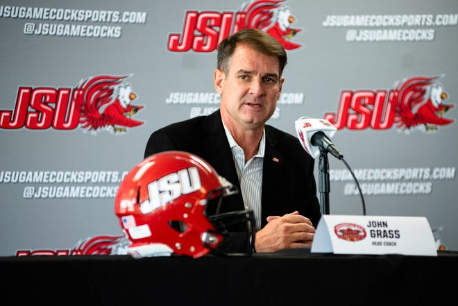 Coach John Grass and the Jacksonville State Gamecocks travel to Florida State University on Saturday, Oct. 3.