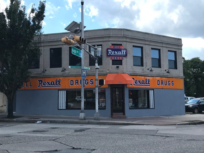 Bell Pharmacy at Haddon and Kaighn avenues in Camden has a new-old façade. But that's not the only change at the independent, family-owned pharmacy.