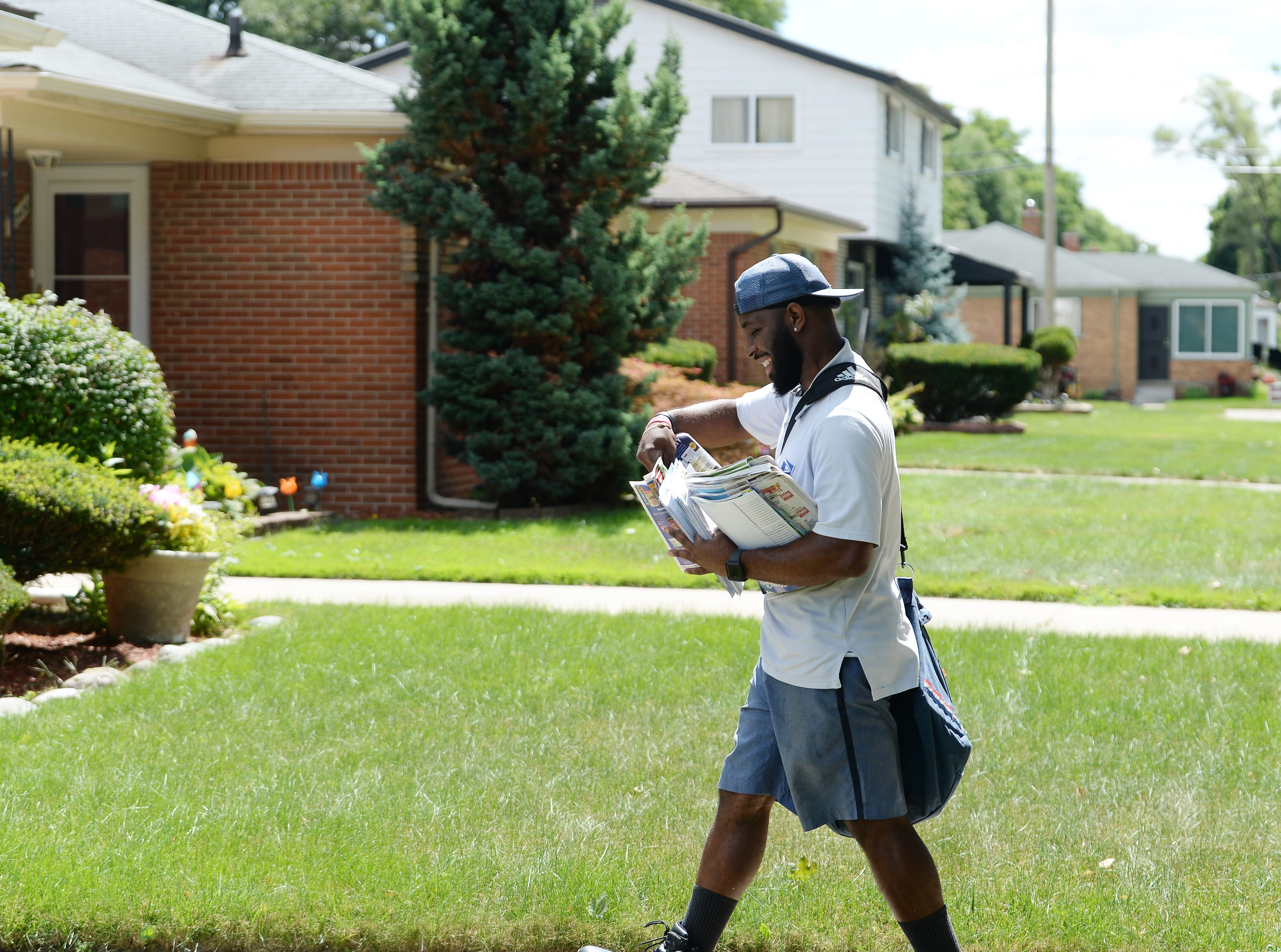 Detroit ranked in top 10 cities for dog attacks on postal carriers