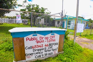 The Guam Animals In Need animal shelter in Yigo is shown in this Aug. 18, 2020, file photo. A dog is in critical condition after a man was seen beating it in Anigua, according to a GAIN news release.