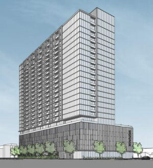 A luxury apartment tower with 350 units is being proposed for Wauwatosa.