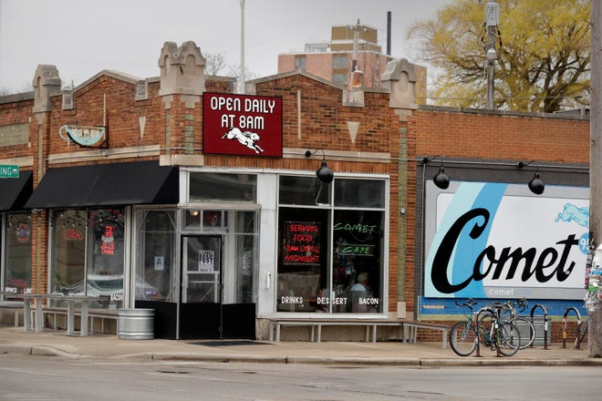 The Comet Cafe in Milwaukee closed because of the coronavirus pandemic.
