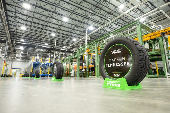 The Nokian Tyres plant in Dayton, Tenn. opened in Oct. 2019. The plant will begin hiring for its second shift of workers in Sept. 2020.