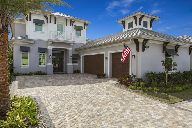 Seagate Development Group's Grenada model is one of two furnished models that recently sold at Windward Isle in North Naples.