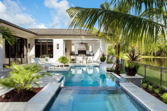 London Bay Homes' Carmela model in Mediterra will feature three bedrooms, three full baths and two half-baths within 3,836 square-feet of living space.