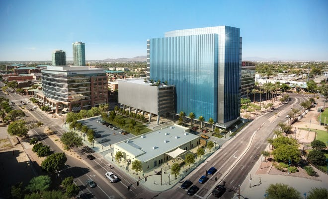 Amazon.com will hire 500 people over the next two years at an expanded technology hub near Tempe Town Lake. The online retailer said it will lease 90,000 square feet of space in a building under construction at 100 S. Mill Ave., part of the Hayden Ferry Lakeside development.