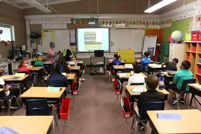 The first day back at school is seen for WCSD was Aug. 18.