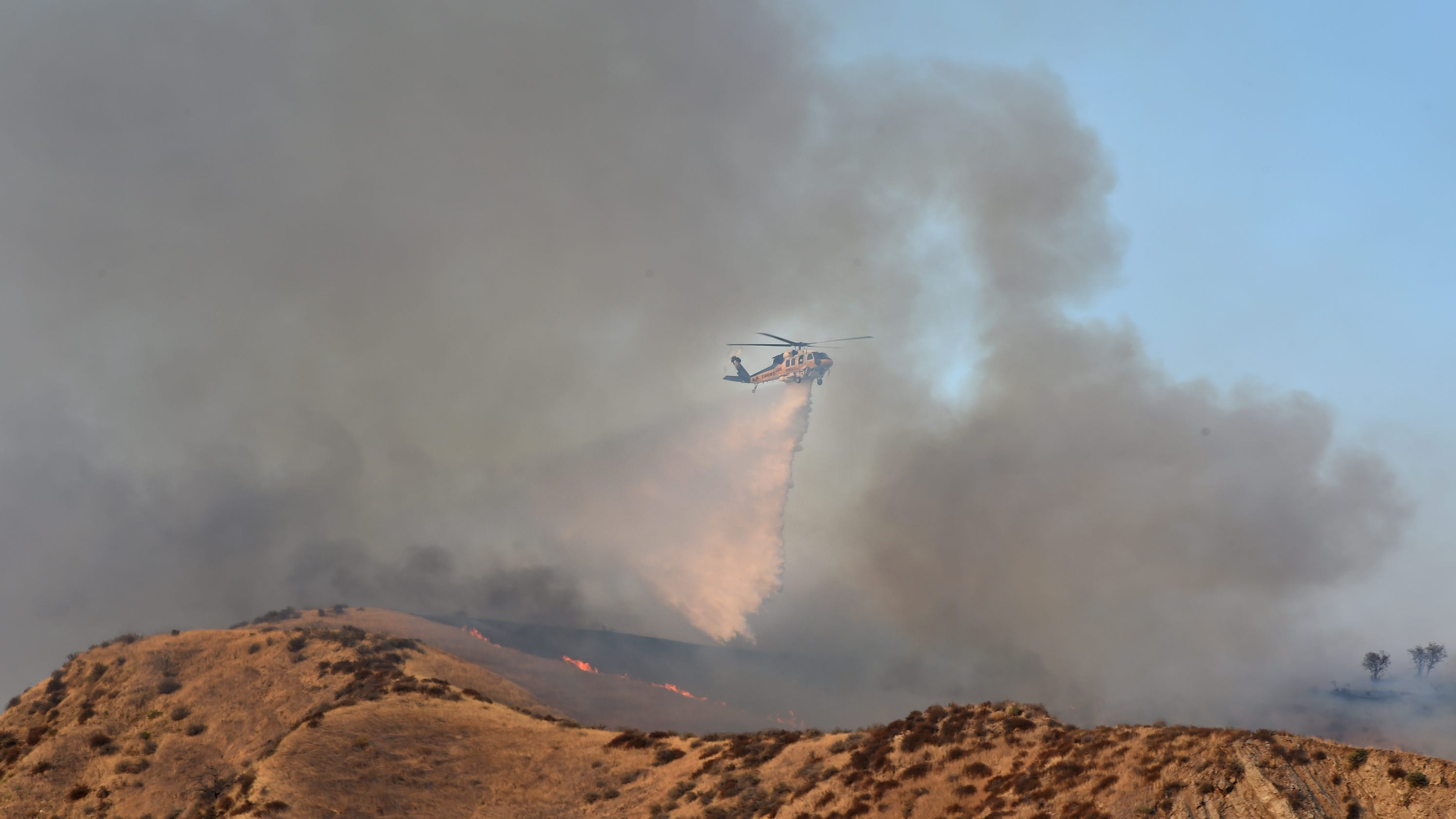 Holser Fire evacuations lifted Wednesday as containment reaches 45%