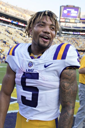 Derrius Guice, who played at LSU from 2015 to '17, has been accused of rape by two former students.