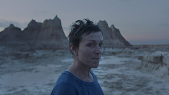 """Frances McDormand stars as a woman who embraces a wandering lifestyle in Chloe Zhao's """"Nomadland."""""""
