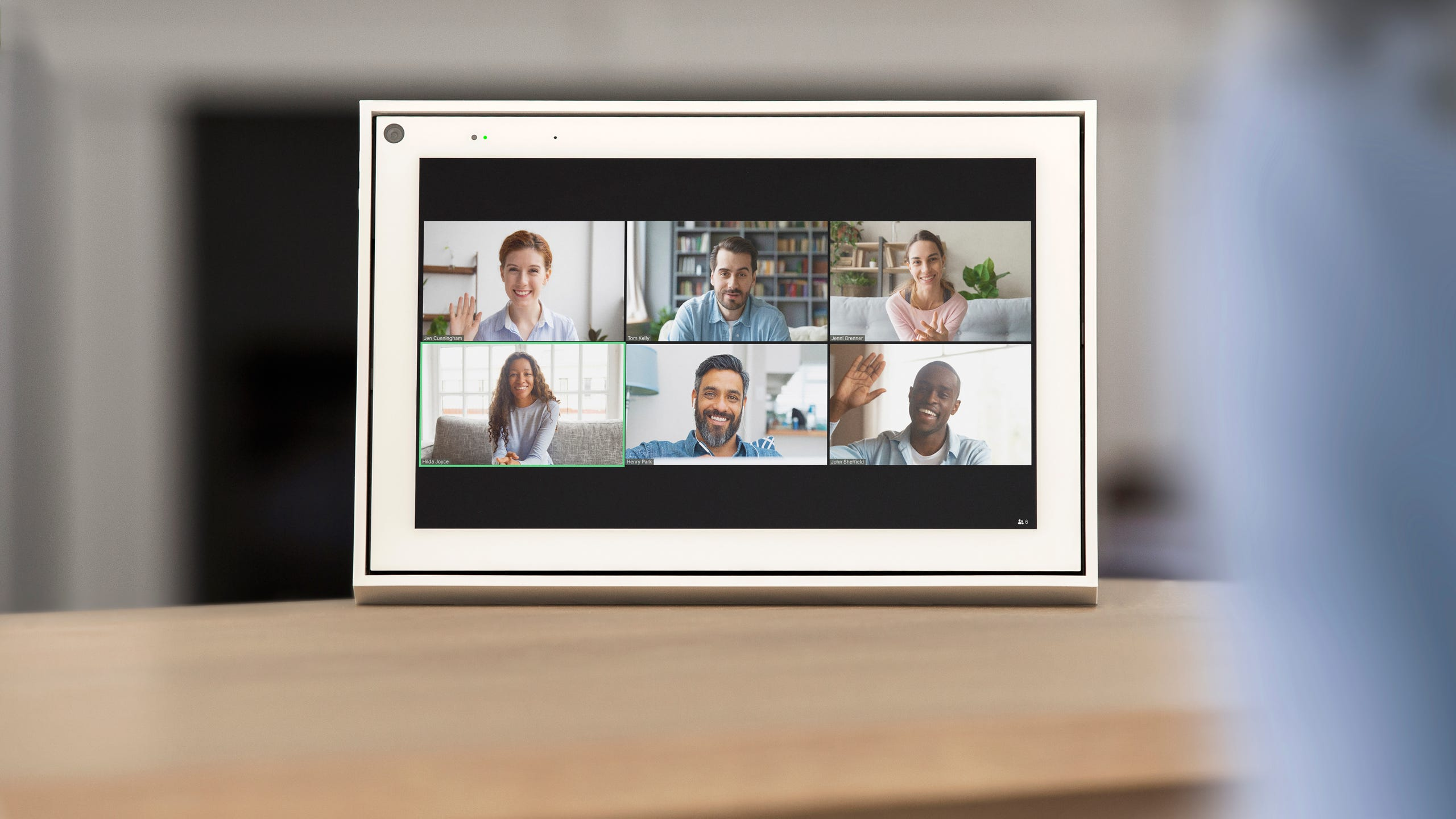 A video chat, a hallmark of work from home and virtual internships.