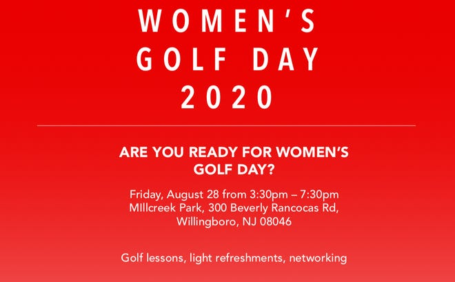 The flyer for the Women's Golf Day event coming to Willingboro later this month.