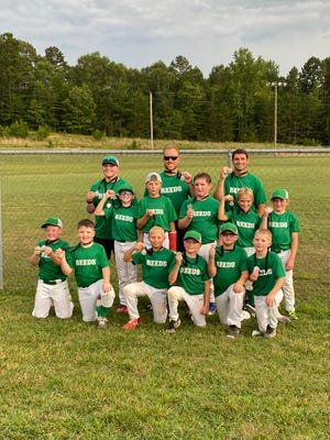 The Reeds Dragons were second in the Davidson County Babe Ruth U10 Minors tournament.