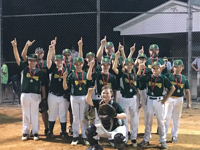 The Reeds Dragons won the Davidson County Babe Ruth U12 Majors tournament championship.