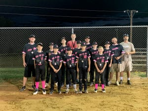 Arcadia was second in the Davidson County Babe Ruth U12 Majors tournament. [Contributed photo]
