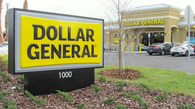 "This Dollar General opened last year along Matanzas Woods Parkway in Palm Coast. City leaders advanced a plan to impose a 120-day moratorium on permitting for any new ""small-box"" discount retailer like this one."