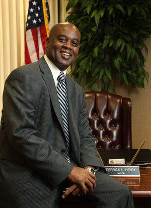 Daytona Beach Mayor Derrick Henry won re-election Tuesday to a third, four-year term.