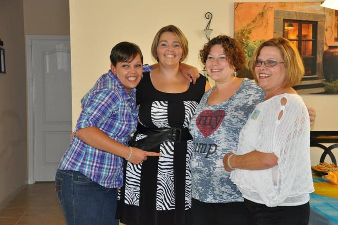 Trudy Ziegler, at right, is pictured with her daughters (from left): Santana Ziegler; Daphine Berardino; and Amanda Spaur. Ziegler died on July 30 of coronavirus at AdventHealth in DeLand.