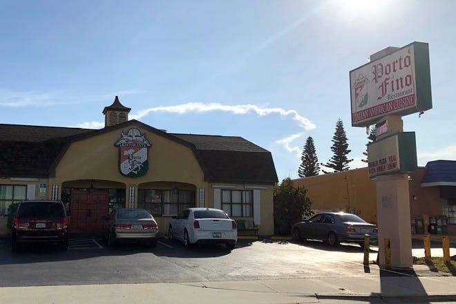 Porto-Fino Restaurant, Daytona Beach Shores.