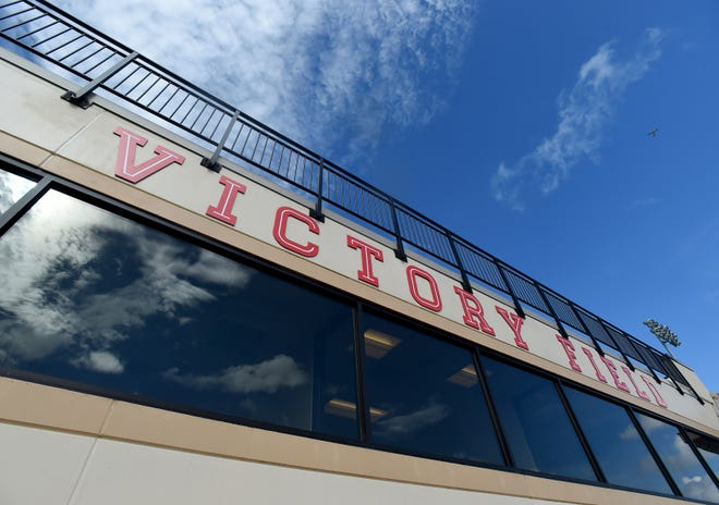 Victory Field on the campus of Southeastern University will be the site of the school's commencement ceremony Sunday.