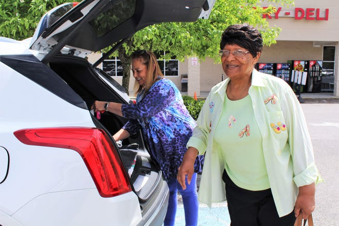 On the afternoon of Friday, April 12, local senior Willie Wade was driven by Pat Gengozian, Chairperson of the Oak Ridge Senior Advisory Board and the MyRide program's first volunteer driver.