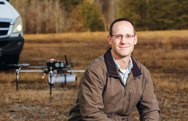 Andrew Harter, pictured, and fellow Oak Ridge National Laboratory staff members formed Horizon31 to build a set of products and services that provide customized unmanned vehicle control systems.