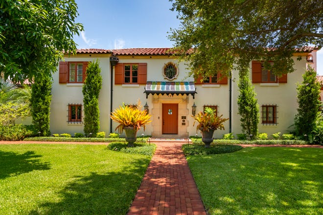 The historic Casa del Carnevale estate, the fifth residence to be built on St. Armands Key, is on the market for $12.75 million.