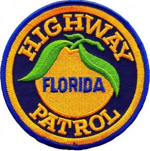 The patch of the Florida Highway Patrol.