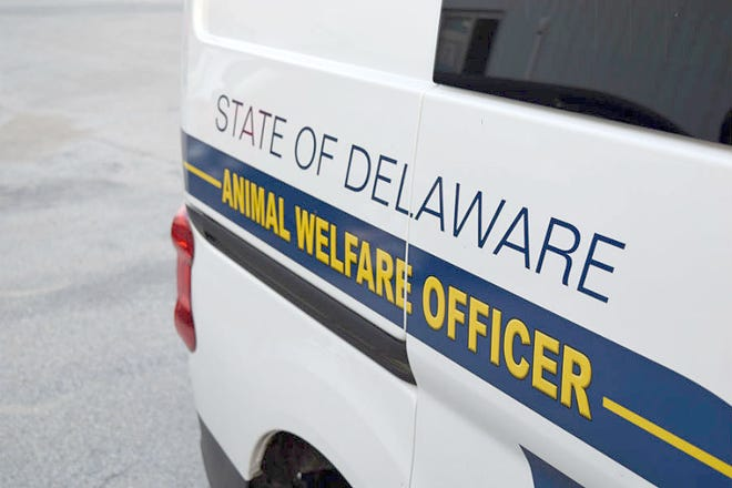 Delaware animal welfare officers responded to the scene.