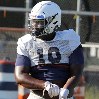 Greensboro Grimsley's Travis Shaw, who'll be a junior this year, is rated the No. 2 defensive tackle prospect in the nation for the Class of 2022 by 247Sports.com. (Contributed photo)