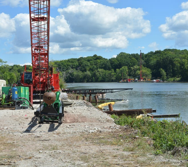 Work began earlier this month on the David and Rita Nelson Family Heritage Crossing, which connects existing trails in Little Chute and Kaukauna.