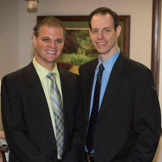 Michael Adler (left) and Eric Adler (right) of Adler Family Dental in Aberdeen