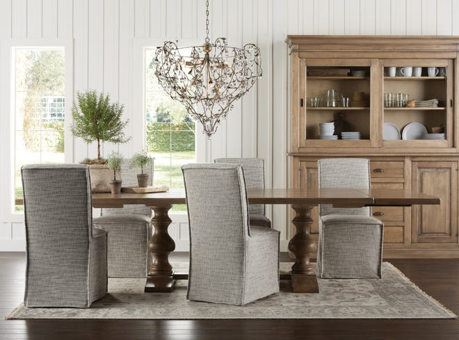 Tuscany Blonde Dining Table