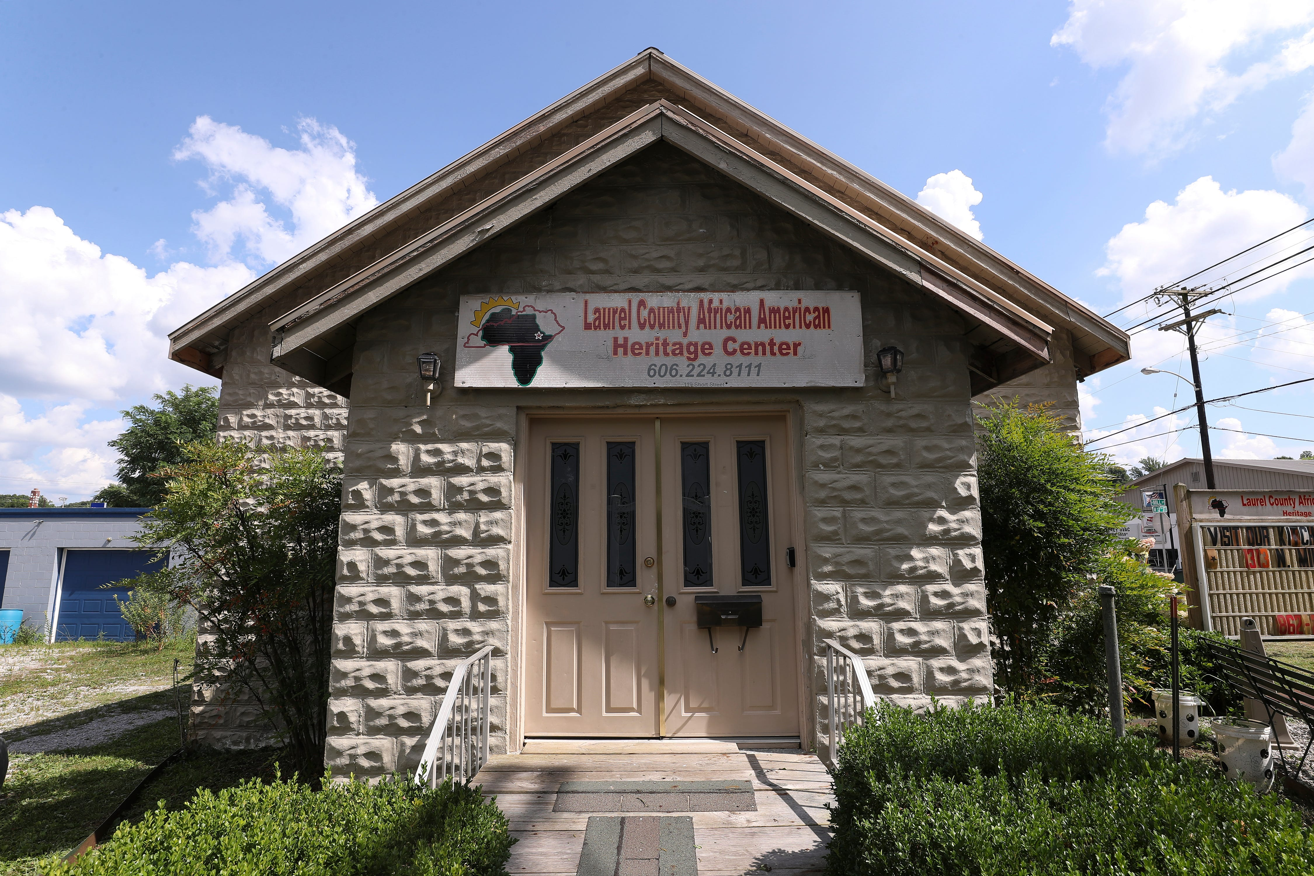 The Laurel County African American Heritage Center in London, Ky. on Aug. 13, 2020