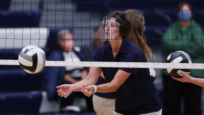 Indiana High School Volleyball What A Game Looks Like Amid Covid 19