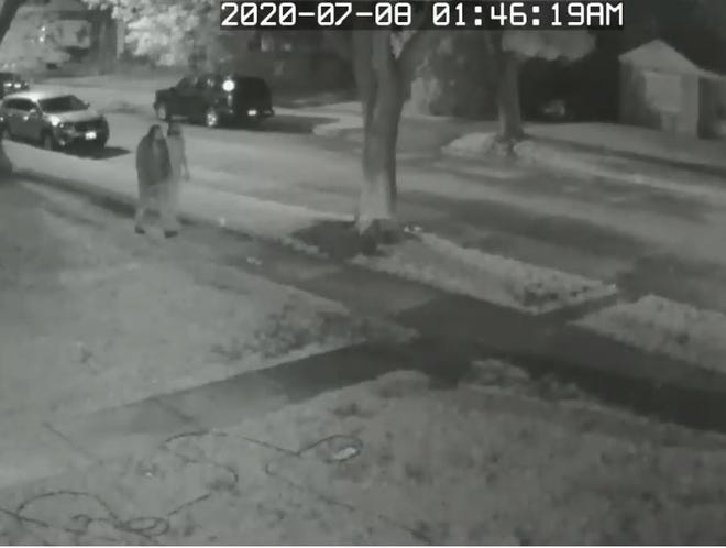 Police released surveillance footage of two suspects connected with a July fatal shooting in the Silver Spring neighborhood of Milwaukee's north side.