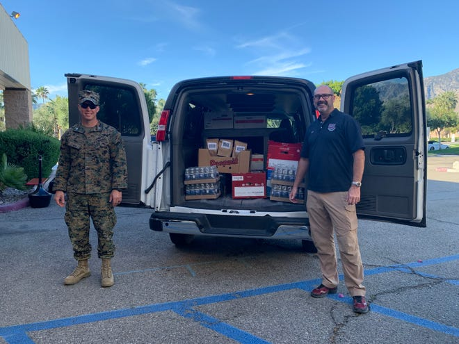 As the operations and programs manager of the Bob Hope USO, Jeff Mich has been supporting the National Guard, providing COVID-19 support throughout the Desert Area.