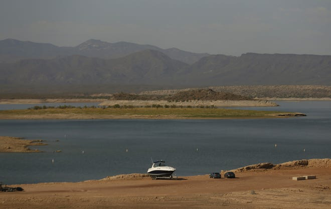 Scorpion Bay at Lake Pleasant Regional Park in Peoria on Aug. 17, 2020.