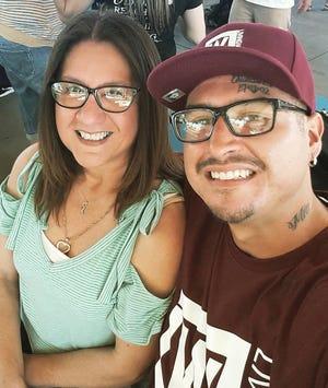 Laura Gonzalez and her son Ramon Timothy Lopez. Lopez died in Phoenix police custody on Aug. 4, 2020.