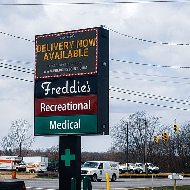 Clio based marijuana shop Freddie's has expanded its delivery service coverage area in St. Clair County and Sanilac County.