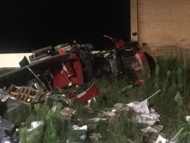 The Fairview Township Fire Department was dispatched to the crash on Interstate 83 near the Turnpike overpass at Lewisberry Road around 11 p.m. Tuesday night.